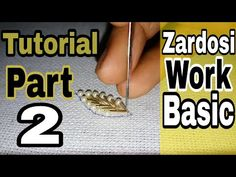 Hand Embroidery For Beginners Hand Embroidery Stitches tutorial Zardosi Embroidery, Embroidery Leaf, Tambour Embroidery, Blackwork Embroidery, Embroidery Stitches Tutorial, Embroidery Works, Hand Embroidery Patterns, Embroidery Techniques, Tambour Beading