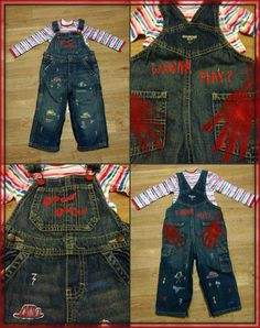 Chucky Costume Custom home made child sized  Good by AcrylicLovely
