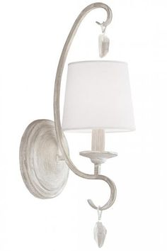 Caprice Sconce - Shabby Chic Wall Sconces - Wall Sconce Lighting ...