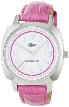 Relógio Lacoste Sportswear Collection Palma Leather Strap White Dial  Women s watch  2000599  Relogio   851c93868e