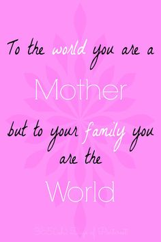A special quote for Mother's Day  #mothersday #ad @buccadibeppo