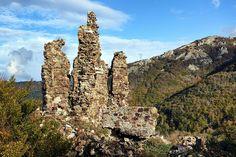 Corsica - Les Cols Corse - Foce di Vizzavona (col de Vizzavona) (1 163 m) : RN 193 Le col de Vizzavona (en corse Foce di Vizzavona ou Foci di Vizzavona) est un col de Corse entre Corte et Ajaccio. Il relie ainsi Vivario dans la Rogna (En-Deçà-des-Monts) à Bocognano dans le Celavo (Au-Delà-des-Monts).