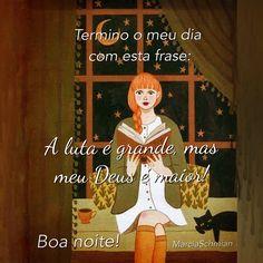 #boanoite #Deus #fé #frases #luta