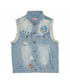 aaa0e39b4e8 Jordan Craig Denim Vest - MEN'S CLOTHING Denim Vest Men, Sneaker Boutique,  Reebok,
