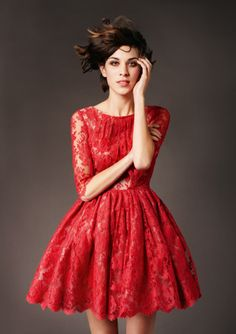 #party dress #red