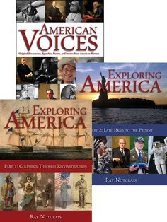 8 best exploring america images on pinterest high school high exploring america curriculum package biblical worldview and no revisionist history a must for high school american history and literature fandeluxe Choice Image