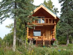 alaska cabins | Alaskan Cabin Plans and Designs