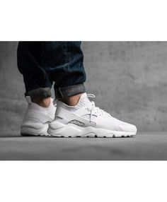 quality design a1420 a8d17 Buy authentic nike air huarache run ultra br white trainer for cheap sale,  with high quality and preferential price and get FREE one pair of socks for  each ...