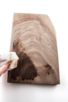 DIY wood cheese board or cutting board