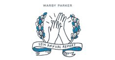 great content marketing from warby parker —choose your own adventure-style annual report