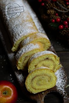 Rolada jabłkowa – Smaki na talerzu Pumpkin Cheesecake, French Toast, Rolls, Food And Drink, Menu, Thanksgiving, Bread, Dishes, Breakfast