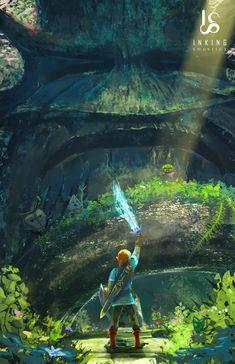 The Legend Of Zelda 815221970022344041 - Breath of the wild link deku tree master sword botw Source by The Legend Of Zelda, Legend Of Zelda Memes, Legend Of Zelda Breath, Breath Of The Wild, Deku Tree, Image Zelda, Botw Zelda, Link Art, Link Zelda