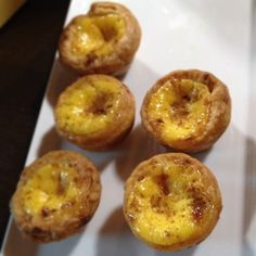 #belem style Portuguese egg tarts topped with cinnamon. #macau  (at IFT Educational restaurant)