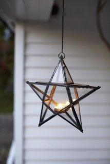for the patio or porch (I have 2 or 3 of these already - easy to find on Amazon - cheap and SO pretty)