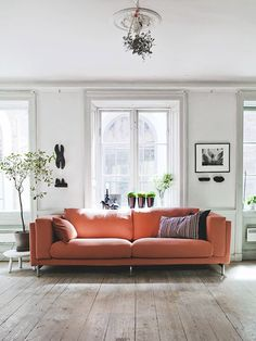 Color Crush: 5 Marvelous Ways To Bring Coral Home This Fall: Incorporate Coral With Furniture