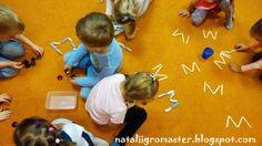 """УЧИМ БУКВЫ с nataliigromaster - БУКВА """"М"""" :: Игры, в которые играют дети и Я"""