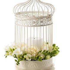 Volière Antik Volière chandeliers lanterne métal cage fleurs cage DEKOKÄFIG