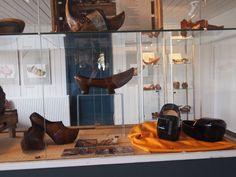 Klompen museum Noordburgum. Friesland. Nederland