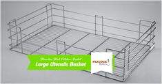 Benefits of Using Stainless Steel Kitchen Baskets in Kitchen The quality of these SS Kitchen Baskets is highly impeccable, as they are composed of durable, unbreakable, and rust-resistant Stainless Steel material. Stainless Steel Material, Stainless Steel Kitchen, Kitchen Baskets, Kitchen Accessories, Utensils, Cool Kitchens, Counter Space, Rust, Forget