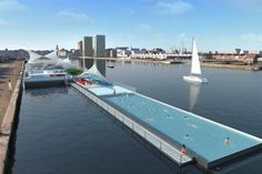 Badboot, one of the world's largest floating swimming pools, will be coming to Antwerp this summer! Built from an old ferry boat, the pool will have a rather generous total length of 120 meters and will be part of a facility that can host 600 people. The new attraction will have a swimming pool, two reception rooms, several floors and a terrace restaurant and lounge. Energy-efficient measures, recycled materials and a reedbed water filtration system will make this Sculp(IT)-designed swimming…