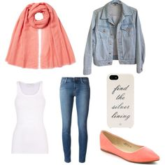Simple flirty outing outfit