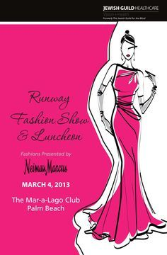 fashion show poster template - Google Search