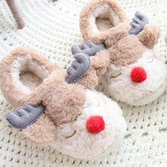 Moose Deer Women slippers Домашние тапочки Алиэкспресс AliExpress Shopping Online // Link for order on AliExpress: http://ali.pub/5ks6b