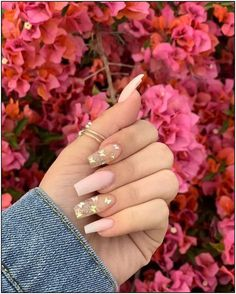 Charming Acrylic Nail Designs Ideas to Try for Summer in 2019 . - Charming Acrylic Nail Designs Ideas to Try for Summer in 2019 – Nails Art – Simple Acrylic Nails, Best Acrylic Nails, Summer Acrylic Nails, Nail Summer, Simple Nails, Acrylic Nails With Design, Painted Acrylic Nails, Acrylic Nail Designs Coffin, Acrylic Gel