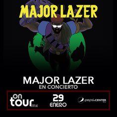 #MajorLazer en la Ciudad de México #ONTOURmx