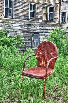 Rusty chair.