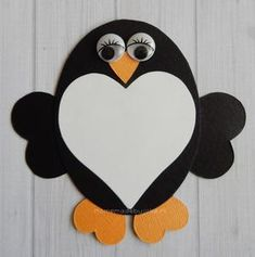 Crafting animals from hearts – Homemade by Joke – Knippen Valentine's Day Crafts For Kids, Valentine Crafts For Kids, Holiday Crafts, Foam Crafts, Arts And Crafts, Paper Crafts, Winter Bbq, Construction Paper Art, Curious Kids