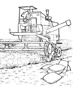 Farm Equipment Coloring Pages Tractor Coloring Pages, Horse Coloring Pages, Coloring Pages To Print, Free Printable Coloring Pages, Colouring Pages, Coloring Pages For Kids, Coloring Books, Activity Sheets For Kids, Craft Activities For Kids