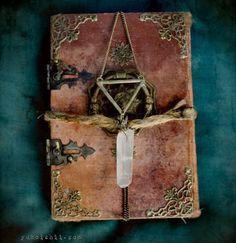 book of the witch mixed media assemblage © Yuko Ishii www.yukoishii.com