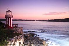 Sunrise: Hornby Lighthouse