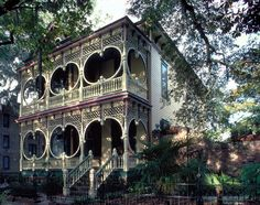 savannah ga images | Our next stop is Savannah, Georgia and this gingerbread house was ...