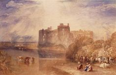 Joseph Mallord William Turner 'Carew Castle, Pembrokeshire', c.1832 © Manchester City Galleries
