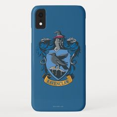 Showcasing the iconic Ravenclaw crest, the wise raven and blue gothic background make this vintage style graphic a perfect companion for fans of the smash hit Harry Potter series! Only the cleverest witches and wizards are housed in Ravenclaw. This design offers the perfect opportunity to show the world which Hogwarts house you belong to!