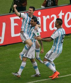 Messi scores twice as Argentina beats Nigeria at World Cup; both teams advance Lionel Messi, Fifa World Cup, Beats, Scores, World Cup, Brazil, Argentina, June, Group