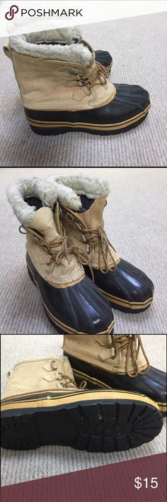 Mens sorrel look a likes Seaway snow boots . Still have a lot of life in them . seaway Shoes Winter & Rain Boots