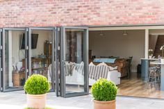 Pay less for your folding doors without compromising on quality. ECO+ bifolding doors let you seamlessly open your home or conservatory out into your garden with style.