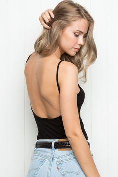 Brandy ♥ Melville |  Avery Tank - Tanks & Halters - Tops - Clothing