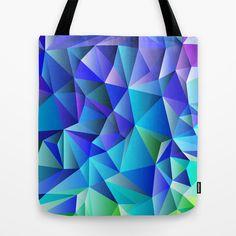 Geometric No. 7 Tote Bag by House of Jennifer - $22.00
