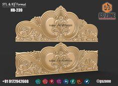 Bed Headboard Design, Master Bedroom Design, Headboards For Beds, Wood Bed Design, Furniture Design, Bed Furniture, Blue Colour Images, Carved Beds, Temple Design For Home