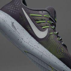 c7b98a6737b0 Nike Lunarglide 8 Shield - Dark Grey Metallic Silver-Black-Volt