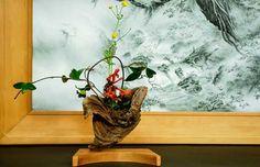 流木の花器 2005-6