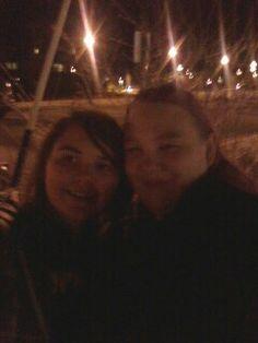 Kayla and me