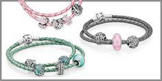 pandora leather bracelet with jade charms | Pandora Summer Charms and Bracelets - Fox Fine Jewelry - Ventura, CA