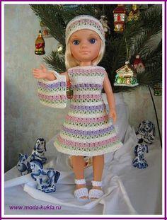 Вяжем платье на НЭНСИ крючком (частичка лета или мечтать не вредно)