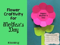 Mother's Day Flower Craftivity