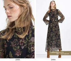 Floral dress | ZARA 2016